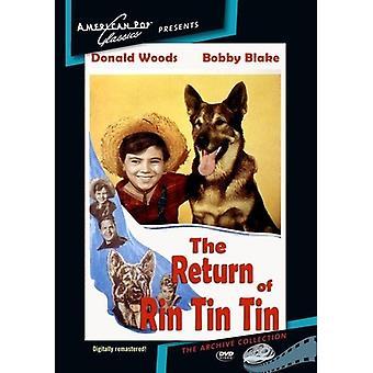 Return of Rin Tin Tin [DVD] USA import