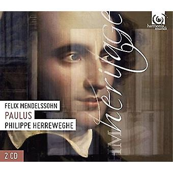 Mendelssohn / Herreweghe, Philippe - Paulus [CD] USA import