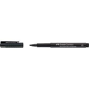 Faber Castell Pitt Artist Calligraphy Pen (C, 199 Black)