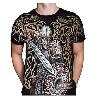 Aquila - viking midgard warrior - mens t-shirt