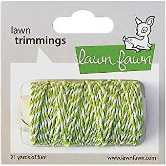 Rasen Fawn Lime Hanf Schnur