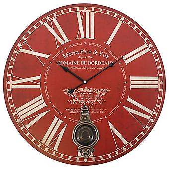 Something Different 58cm Large Clock With Pendulum