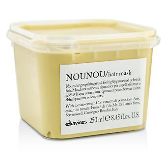 Nounou nourishing repairing mask (for highly processed or brittle hair) 188028 250ml/8.45oz