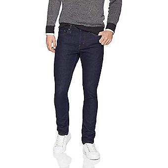 Essentials Men's Skinny-Fit Stretch Jean, Rinse, 32W x 34L