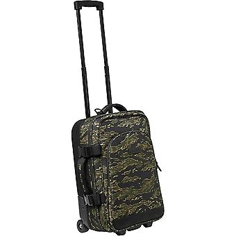 Globe Rolley Carry On Unisex Luggage in Black Camouflage