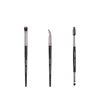 12pc/lot Eye Shadow Blending Eyeliner, Eyelash, Eyebrow Makeup Brushes