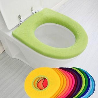 Universele zacht verwarmde wasbare wc-brilmat voor badkamer