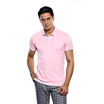 T-shirt polo rose clair | wessi