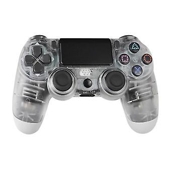 الاشياء المعتمدة® وحدة تحكم الألعاب لبلاي ستيشن 4 - PS4 بلوتوث غمبد مع الاهتزاز شفافة