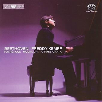 Freddy Kempf - Sonatas de Beethoven - Path Tique, luz de luna, Appassionata [SACD] USA importar