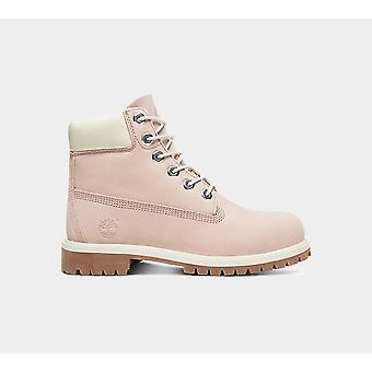 Timberland 6-quot; Premium Juniors Waterproof Purple Shoes Boots