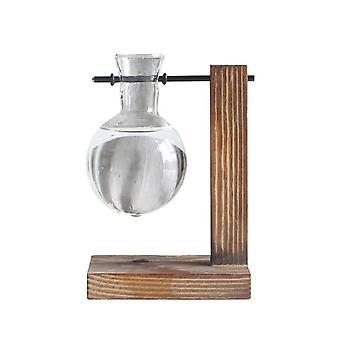 Hydroponische Desktop Pflanze Terrarium Pflanzgefäß Glasvase - Wasserbepflanzung