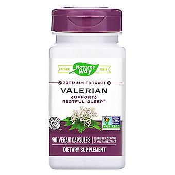 Nature's Way, Valerian, 220 mg, 90 Vegan Capsules