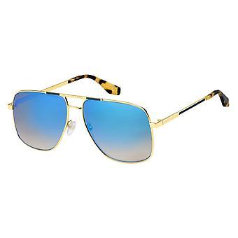 Sunglasses Men's Men's Pilot Double Bridge Havana Honey