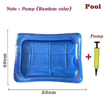 Parent-child Interactive Magnetic Fishing Toys Water Pool Rod Net Set - Kids Child Model Play Fishing Games Outdoor Toy