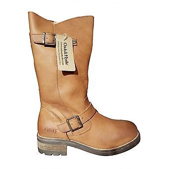 Oak & Hyde Crest Premium Leather Boot (tan)