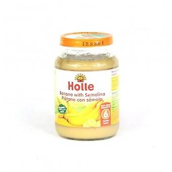 Holle - Organic Banana With Semolina