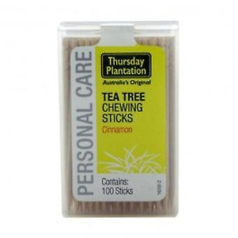 Thursday Plantation - Tea Tree Toothpicks - Cinnamon 100s