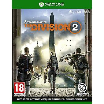 The Division 2 Xbox One Game [French Version]