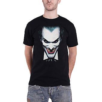 The Joker T Shirt Joker Face Movie Logo new Official Mens Black