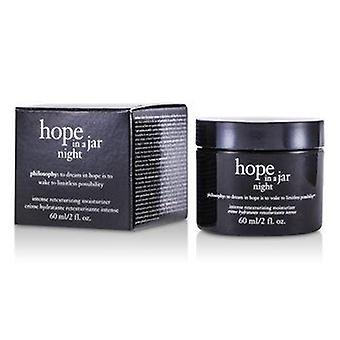 Hope In a Jar Night Intense Retexturizing Moisturizer 60ml or 2oz