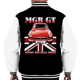 MG GT Sport Den virkelige tingen British Motor Heritage Menn's Varsity Jacket