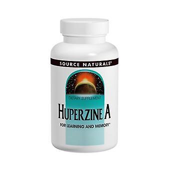 מקור טבעי Huperzine A, 100 MCG, 120 טבליות