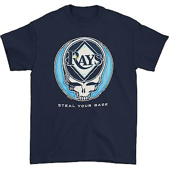 Grateful Dead Tampa Bay Rays Steal Your Base T-shirt
