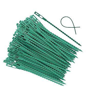 Fishbone Spur Green Landscape - Ceinture de plantes en plastique de jardin réutilisable, Tie Garden