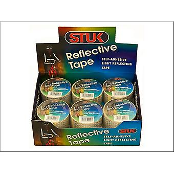 STUK Reflective Tape 25mm x 2m RT252SD