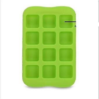 12 Chocolate Molds Gummy Molds Silicone - Candy Mold And Silicone Ice Cube Tray