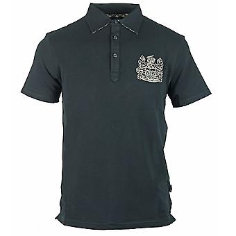 Aquascutum Aldis Logo Schwarz Polo Shirt