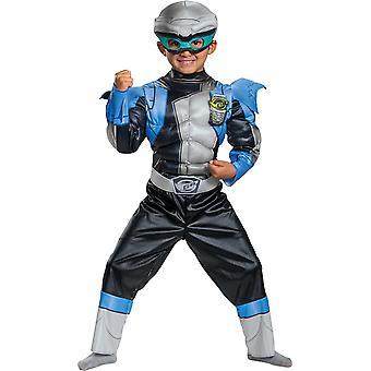 Silver Ranger Muscle Toddler Costume - Beast Morphers