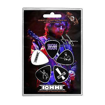 توني Iommi Plectrum حزمة Iommi شعار الفرقة الرسمية الجديدة 5 حزمة الغيتار يختار