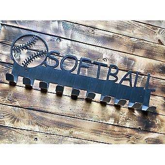 Softball-mitalin ripustin