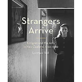 Vreemden arriveren