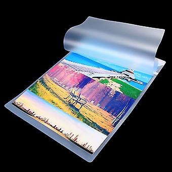 100 Sheets/pack 6inch 70mic Laminating Film