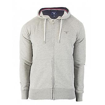Gant Men's hoodie Casual Cardigan 276123 Grau