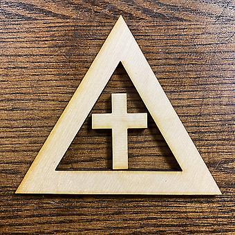 Ensemble de croix et de triangle