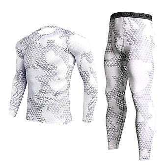 Men's Camouflage Winter Thermal Sports Compression Underwear Set