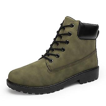 Ankle Winter, Men Rubber Military Lace Up For Martin Boots