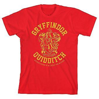 Boys gryffindor shirt youth quidditch apparel for boys