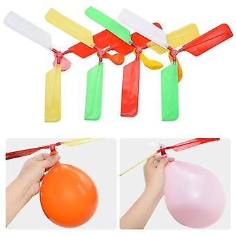 Funny Traditional Classic Sound Balloon Helicopter -s Play Flying Toys