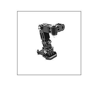 アクションカメラ三脚のための調整ベースマウント - ヘルメットベルトマウントアクセサリー