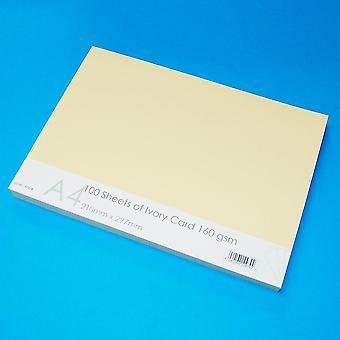 Craft UK Ivory Card A4