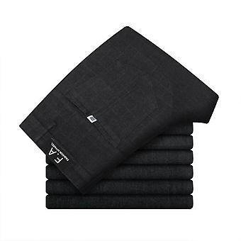 Pánské kalhoty a šaty formální kalhoty slim oblek kostkované kalhoty obchodní kalhoty pro volný čas