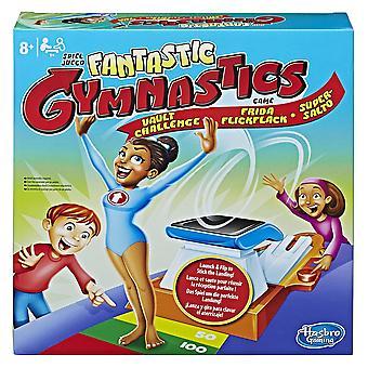 Hasbro jogos fantásticos ginástica salto desafio jogo de ginástica brinquedo ginasta