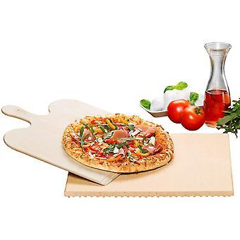 Rommelsbacher Pizza/Bread Baking Stone Set