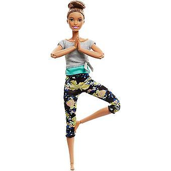 Mattel Barbie Laget for å Flytte - Brun Hår Dukke