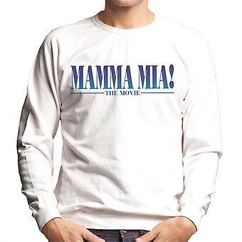 Mamma Mia The Movie Theatrical Logo Men's Sweatshirt